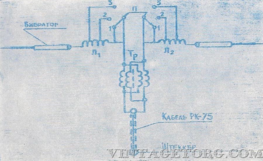 Длина каждого плеча вибратора