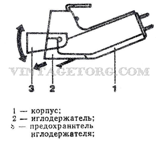 Головка ГЗМ-105М схема