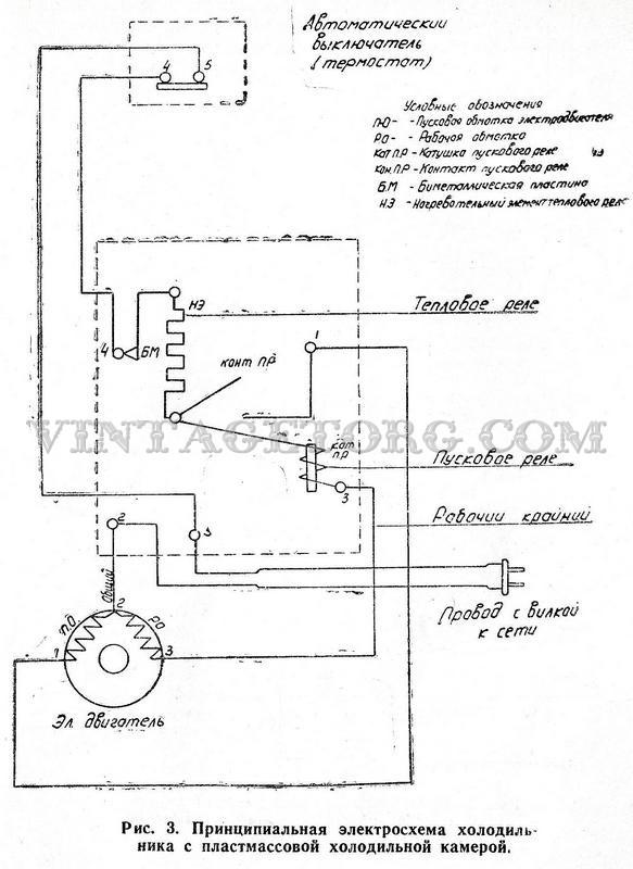Холодильник Тамбов схема 1