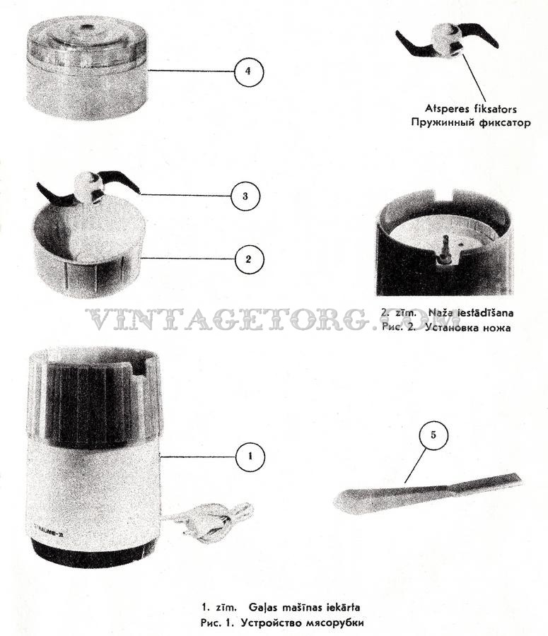 Инструкция по эксплуатации электромясорубки