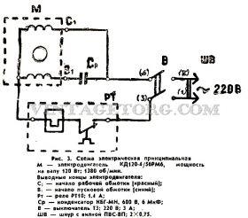 стиральная машина малютка инструкция электрическая схема