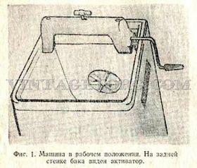 Стиральная машина Урал Рисунок 1