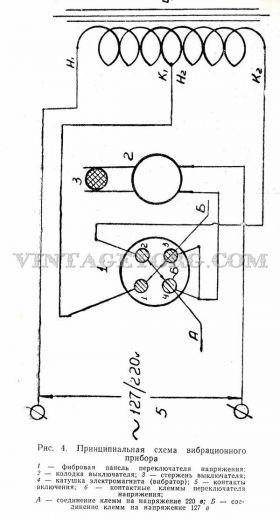Вибрационный прибор ВМП 1 рисунок 4