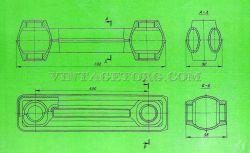 Радиатор чугунный секционный рисунок 2